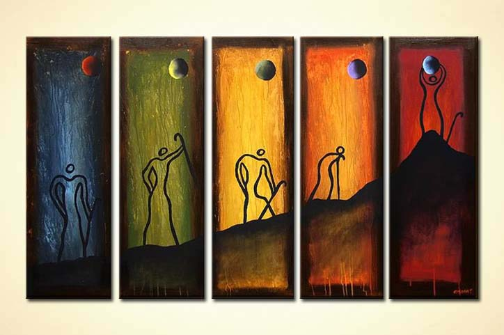 How To Paint Abstract Art On Canvas