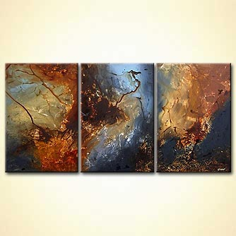 Abstract painting - Hyperion