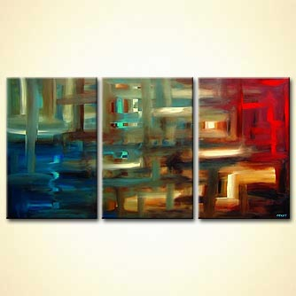 modern abstract art - The Labyrinth