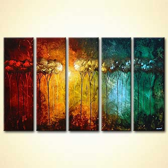 Forest painting - The Secret Garden