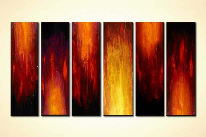 Painting For Sale Fire Art 3713