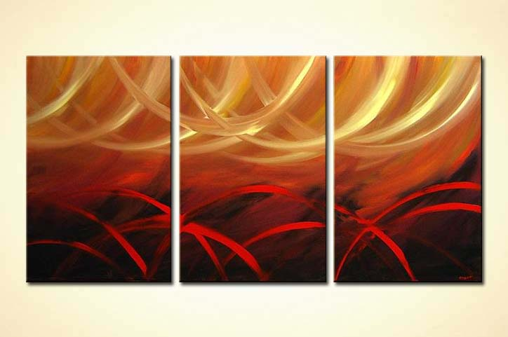 Abstract Handmade Oil Paintings