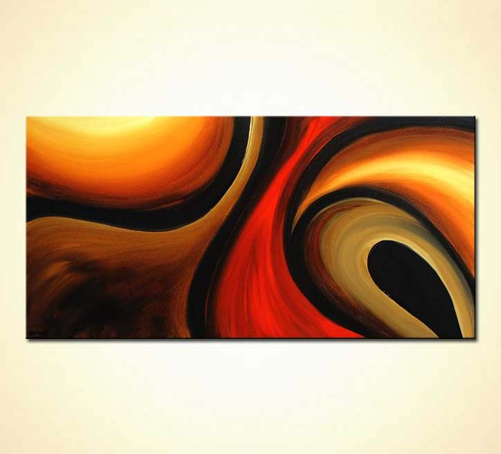 Abstract painting - modern painting #3684