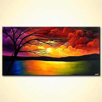 Seascape painting - Heaven in My Eyes
