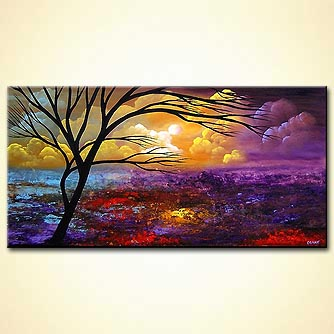 Landscape painting - Field of Dreams