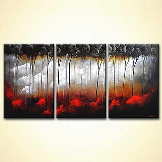 Forest painting - Untouched Beauty