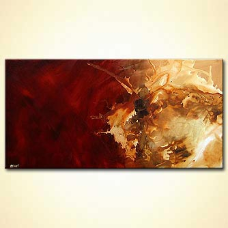 Abstract painting - World of Dune