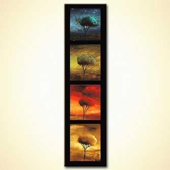 Landscape painting - Four Seasons