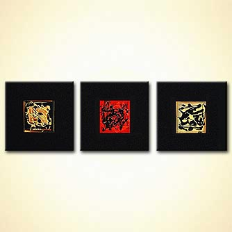 modern abstract art - The Tiger Trail