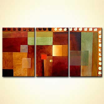 Abstract painting - Composition