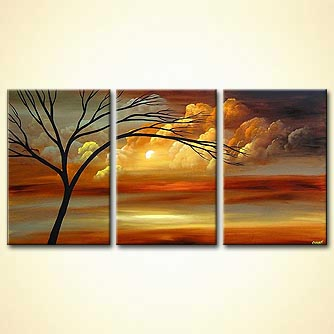 Landscape painting - Because You Love me