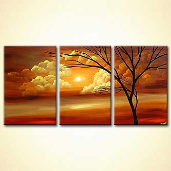 Landscape painting - Greatest Love of All