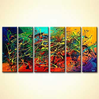 modern abstract art - Fantasy