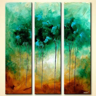 Forest painting - Cool Breeze