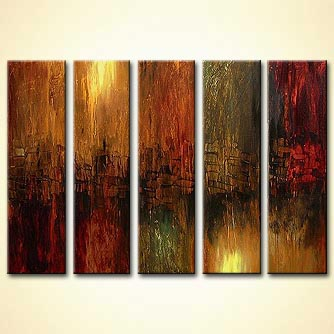 Abstract painting - Elegance