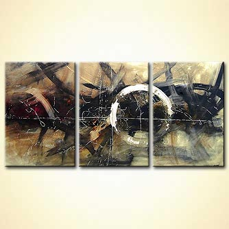 modern abstract art - Full Moon