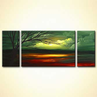 Landscape painting - Green Acres