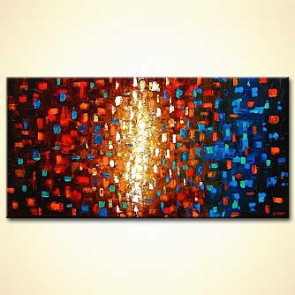 modern abstract art - The Gathering