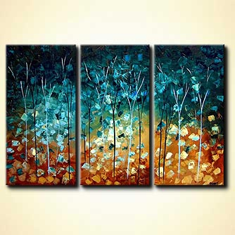 Forest painting - Precious and Few