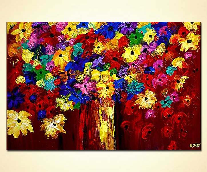 Buy Vase With Flowers 3837