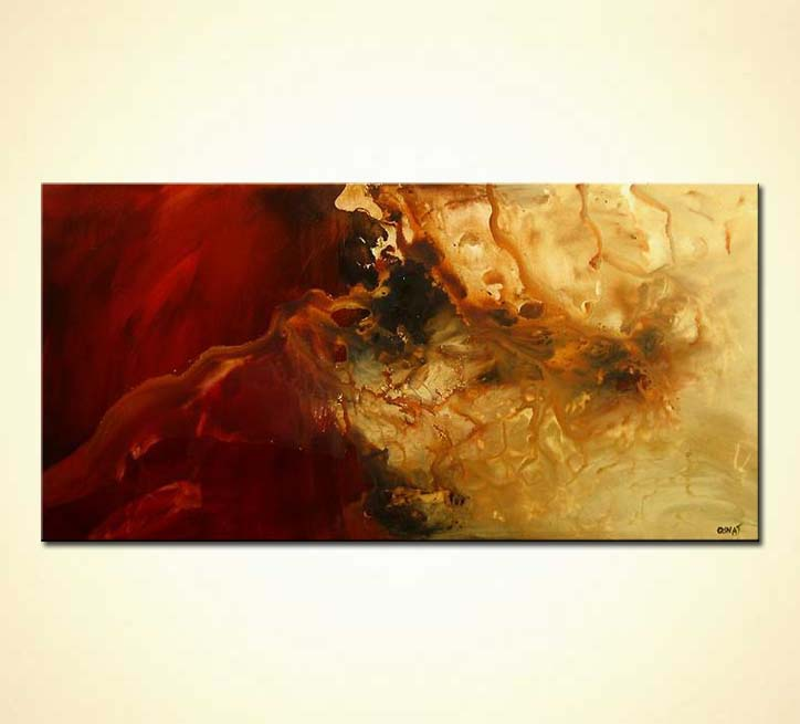 Painting - 1 abstract contemporary painting #3952