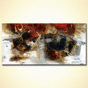 Abstract painting - Empire of Ivory