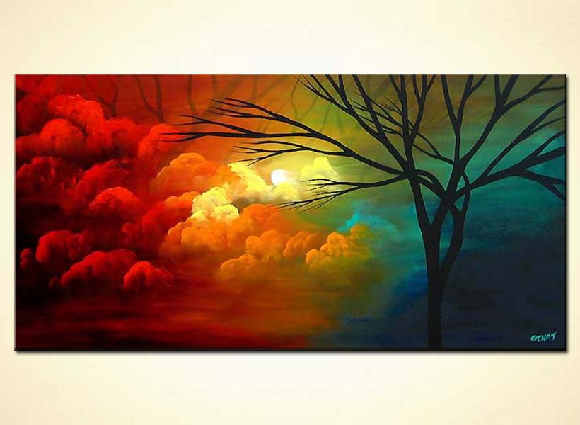 Painting For Sale Clouds Painting 3907