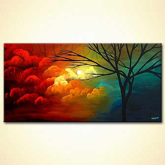 Landscape painting - You are Always on My Mind
