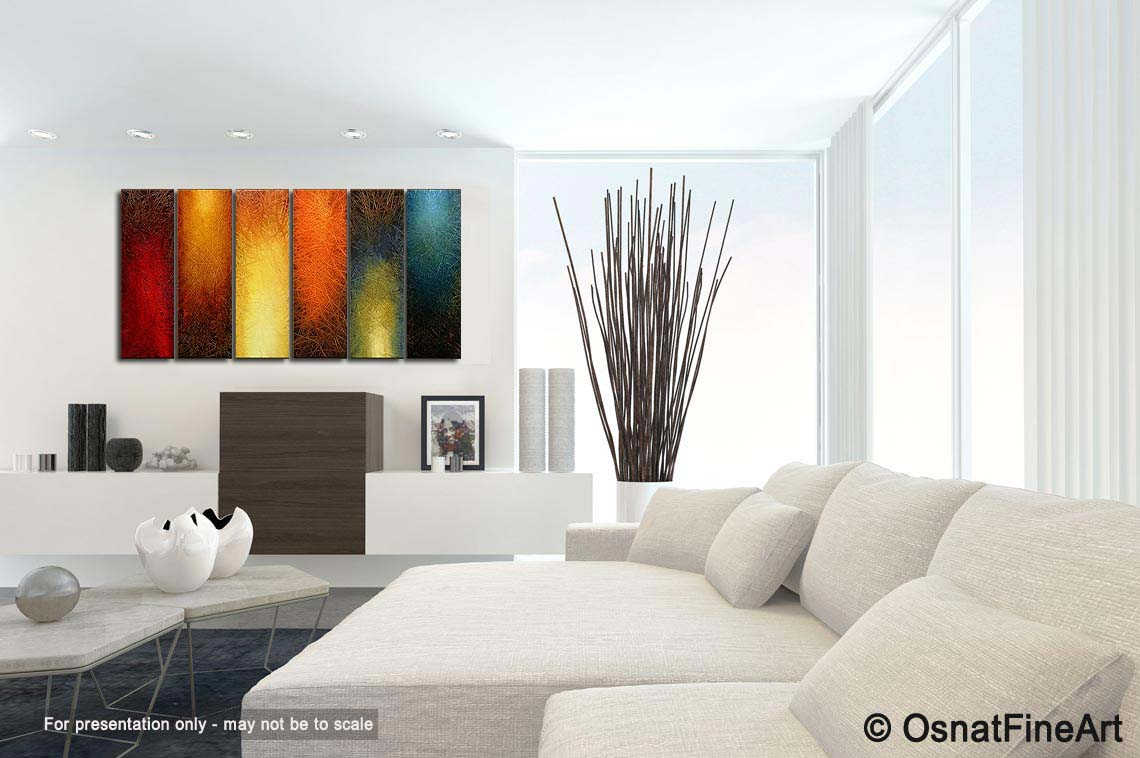 Painting - large abstract wall art #3962