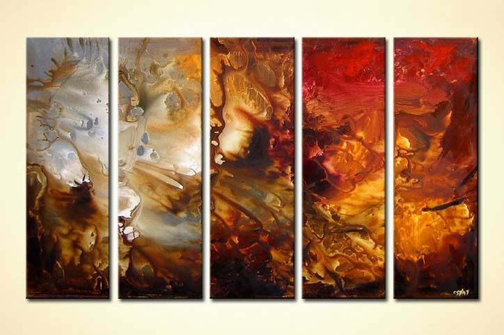 Painting For Sale Multi Panel Wall Decor 3909