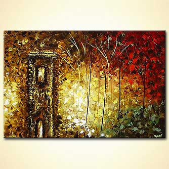 modern abstract art - The Forest Keeper