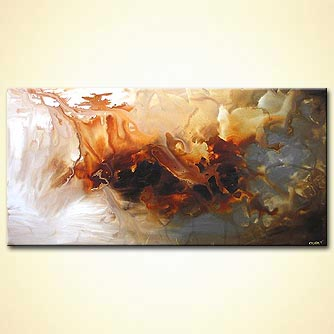 Abstract painting - The Sand Dwellers