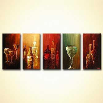 Painting Wine And Glasses Painting 3882