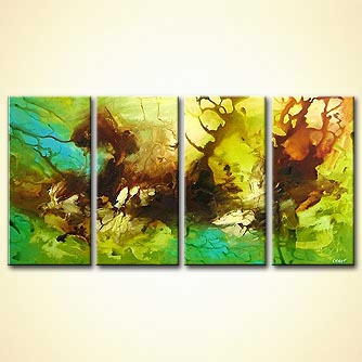 Abstract painting - Day Riders