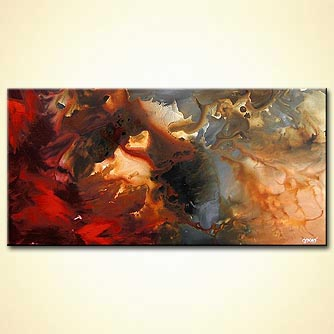 Abstract painting - Drifted