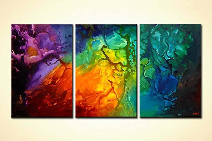 Buy Bold Colorful Abstract Art 3986