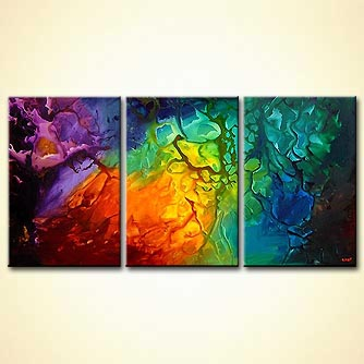 Abstract painting - The Butterfly Effect