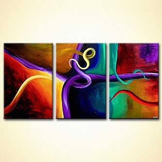 modern abstract art - The Art of Seduction