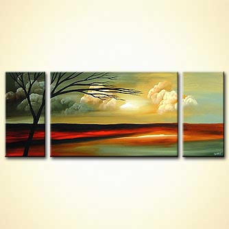 Landscape painting - Tranquillity