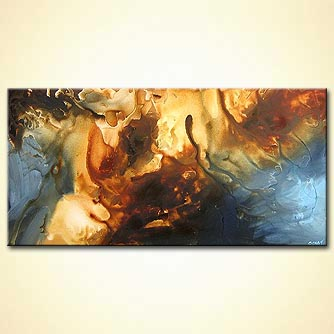 Abstract painting - The Landing