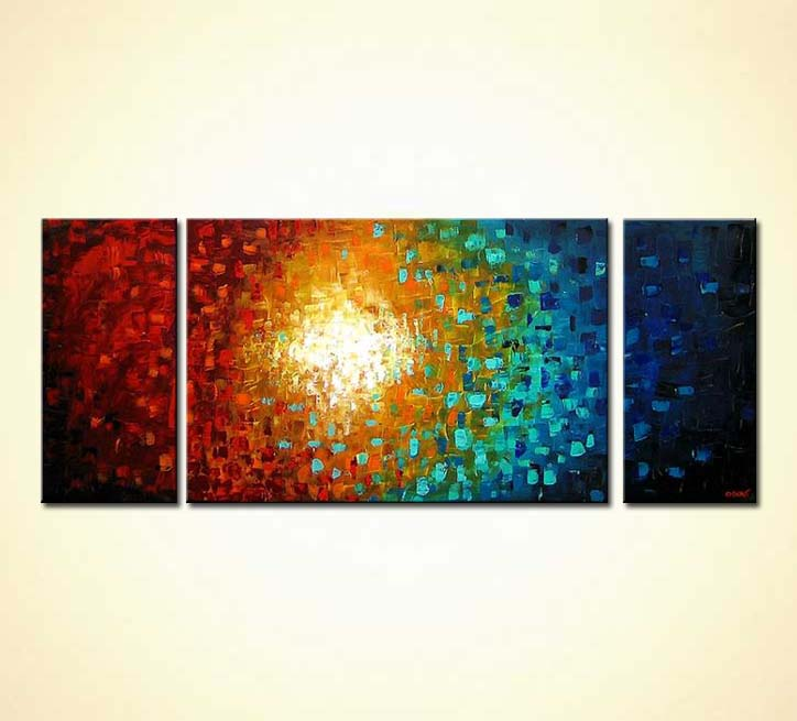 modern abstract art - Super Nova