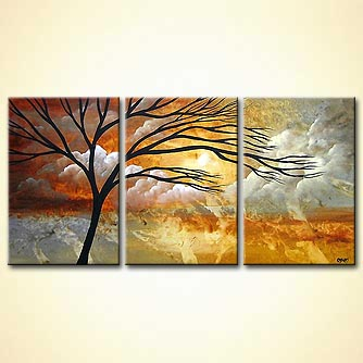 triptych falling in love