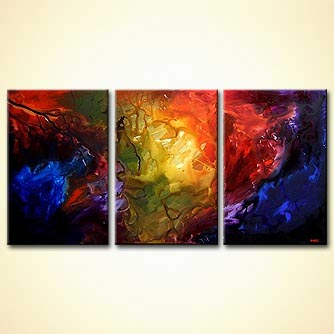 Abstract painting - The Beauty That Surrounds