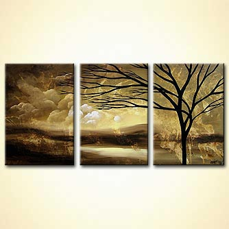 Landscape painting - The Dream I Pray for