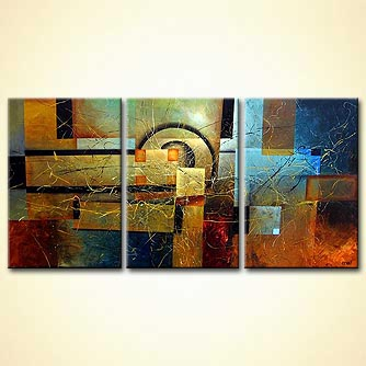 modern abstract art - Unlocking Mystery