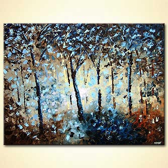 Forest painting - I Want to Surround You