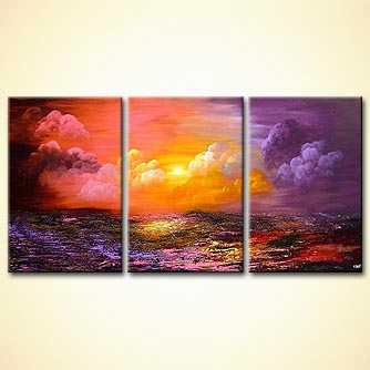 Landscape painting - Heaven