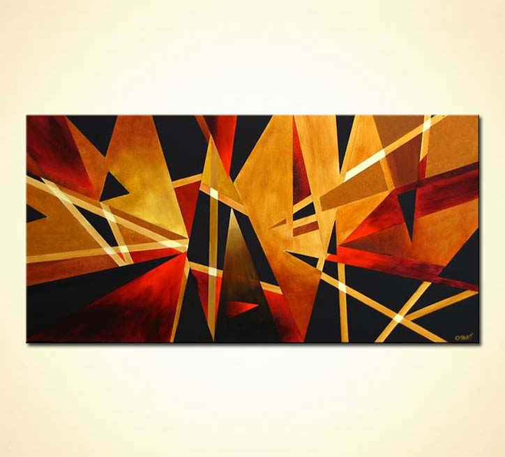 modern abstract art - North Lights