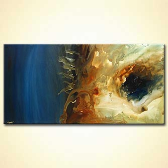 large abstract art home-decor