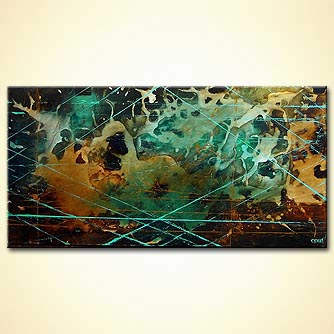 modern abstract art - Lost in Transmission